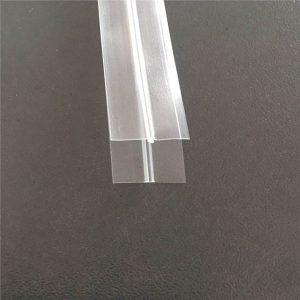 पारदर्शक प्लास्टिक बॅग जिपर